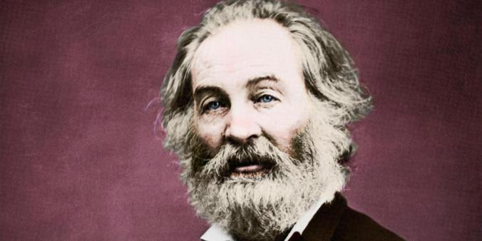 Walt Whitman  - portrait - American poet and humanist 31 May 1819 - 26 March 1892