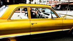 Yellow car-2